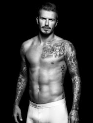 David Beckham in a shot for H&M&#39;s David Beckham Bodywear collection, August 2012 -- H&M