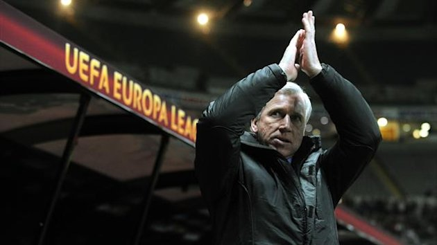 Alan Pardew, pictured, hailed the influence of matchwinner Shola Ameobi