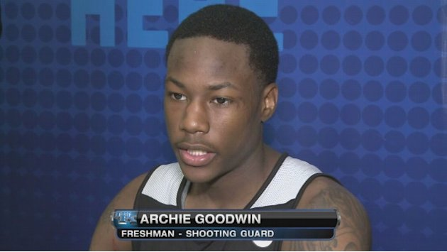 Archie Goodwin at 2013 NBA Combine