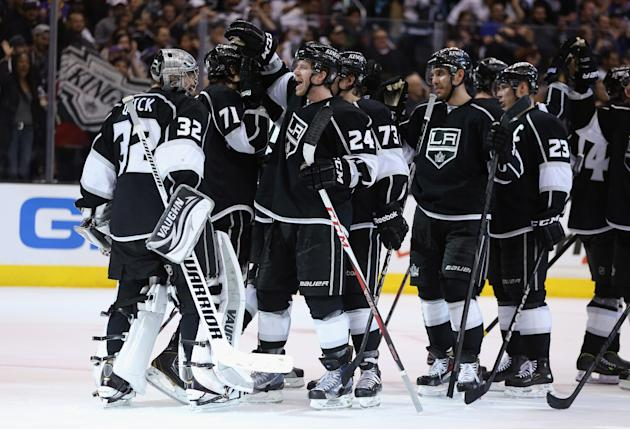 St Louis Blues v Los Angeles Kings - Game Six