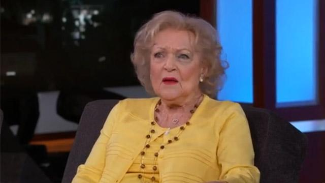 Betty White Reveals How She Got a Black Eye