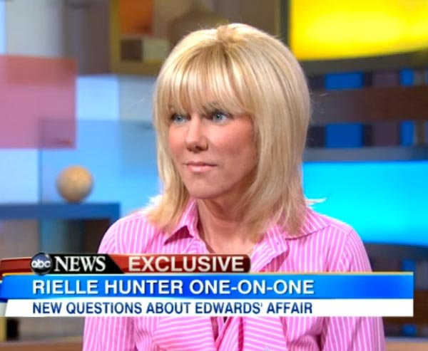 Rielle Hunter On 'GMA': 'John Edwards And I Broke Up Last Week ...