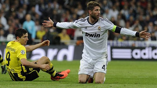 FOOTBALL 2013 Real Madrid - Dortmund (Sergio Ramos)