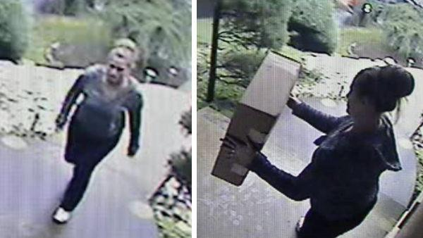Suspects questioned in Christmas present theft