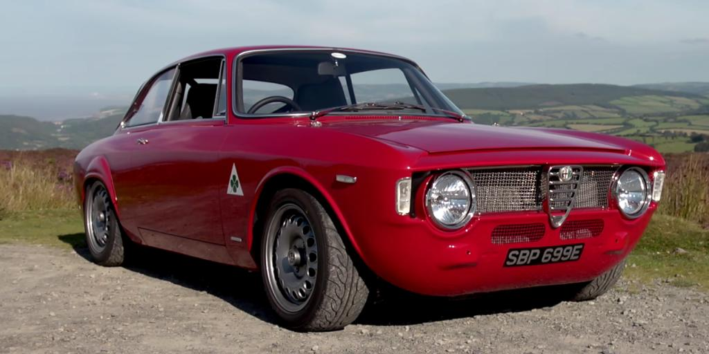 This Modified Giulia Sprint Is the Singer Porsche of Alfa Romeos