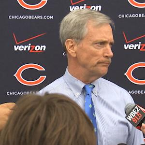 Chicago Bears chairman of the board George McCaskey addresses decision to cut defensive end Ray McDonald