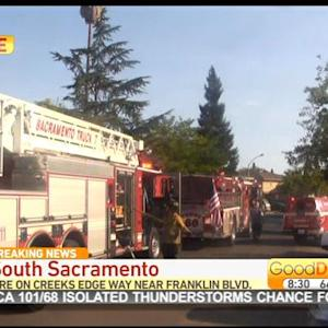 2 Injured In South Sacramento Apartment Fire