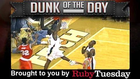 Georgia Tech's Will Bynum - Ruby Tuesday Dunk of the Day