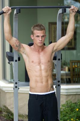 Cam Gigandet in Summit Entertainment's Never Back Down