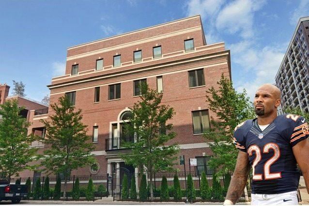 Celebrity Real Estate: Chicago Bears' Matt Forte Paid Over $4M for This Humongous River North Mansion