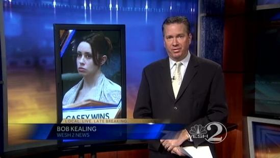 Court sets 2 of 4 convictions aside in Casey Anthony appeal