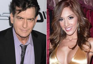 Charlie Sheen, Farrah Abraham | Photo Credits: Jeffrey Mayer/WireImage; Dave Kotinsky/Getty Images