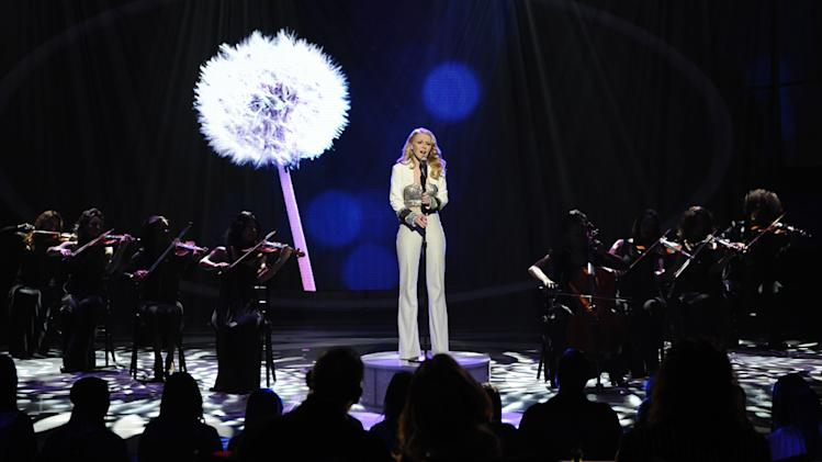 "Hollie Cavanagh performs ""Honesty"" by Billy Joel on ""American Idol."""