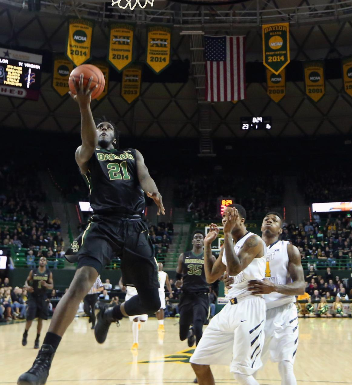 No. 19 Baylor wins 4th in row, 78-66 over hurting No. 20 WVU