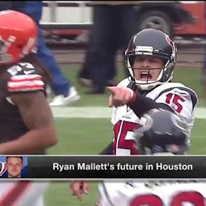 What is Texans quarterback Ryan Mallett's future in Houston?
