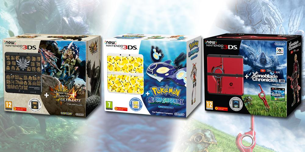 Three New Nintendo 3DS Bundles Announced for Europe