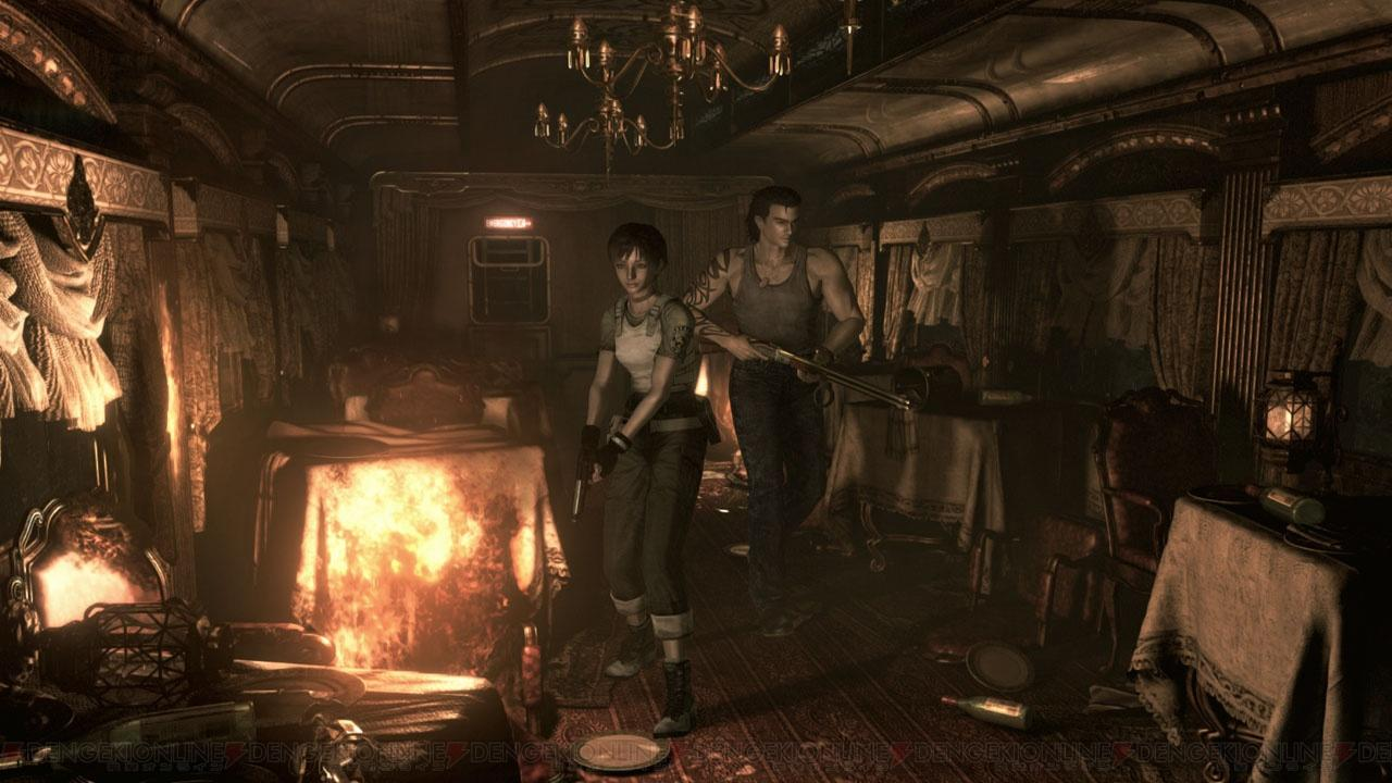 Capcom Announces Resident Evil Zero HD Remaster For PS4, Xbox One, PC, and Last-Gen Consoles