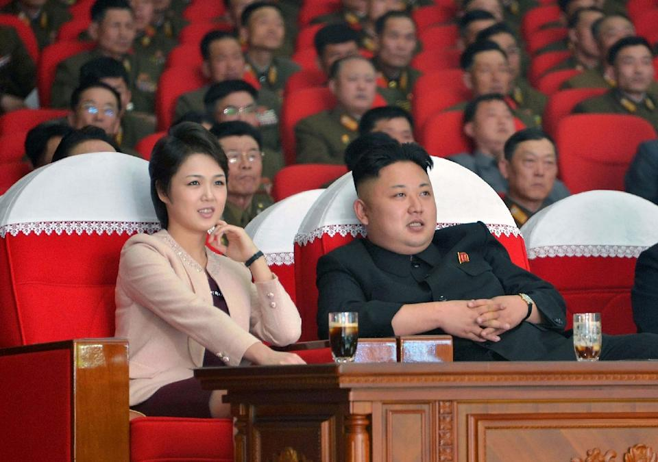 0f8e967ad8b01b9bac66c21ce2ca8cb56145a8ee - Kim Jong-Un and Ri Sol-Ju - Asia   Middle East