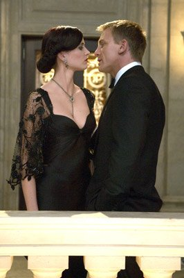 Eva Green as Vesper Lynd and Daniel Craig as James Bond in MGM/Columbia Pictures' Casino Royale