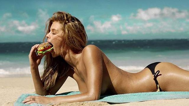 'SI' Model Stars in Sexy Carl's Jr Ad