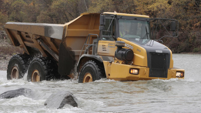 Dartmouth researchers studying Vt. stream recovery