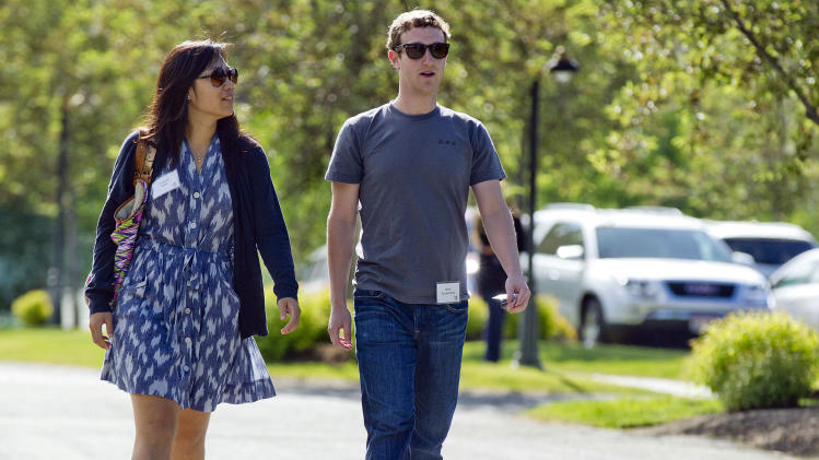 Facebook's Mark Zuckerberg biggest giver in 2013