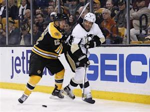 NHL: Pittsburgh Penguins at Boston Bruins