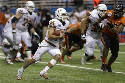Ash, Texas rally to stun No. 15 Oregon State