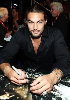 """Jason Momoa attends a """"Conan the Barbarian"""" autograph signing during Comic-Con 2011, San Diego, on July 22, 2011  -- Getty Images"""