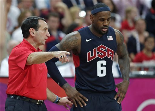 AP Source: Coach K returning to US men's team