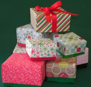 Flatten and save gift boxes