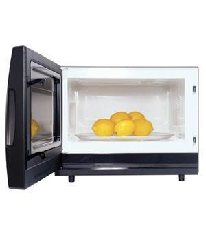 Microwave as Lemon Juicer