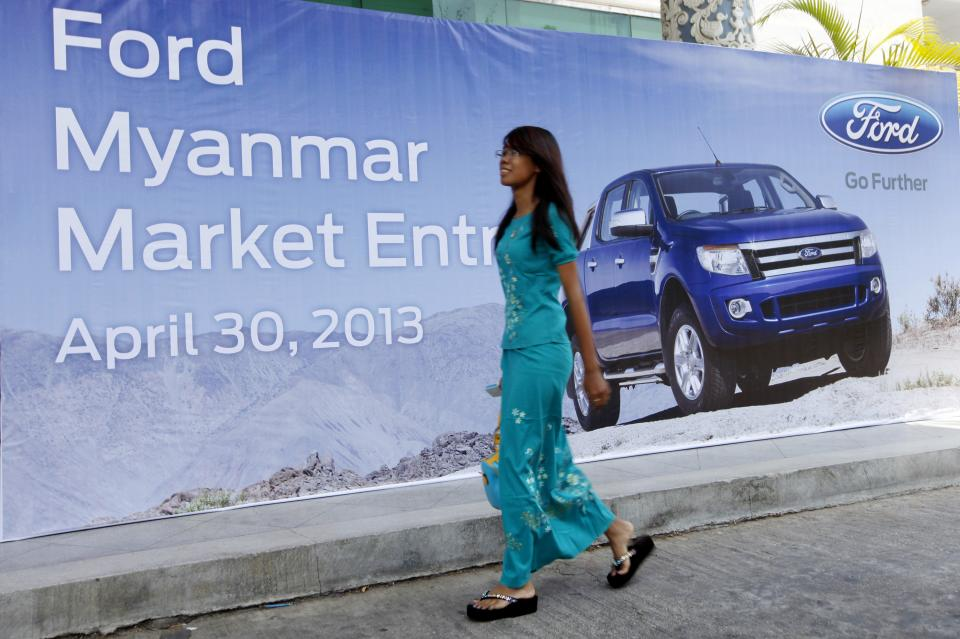 Ford to enter Myanmar with showroom by August