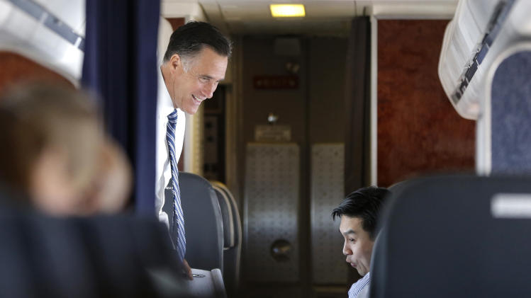 Romney tries to get on track after video remarks