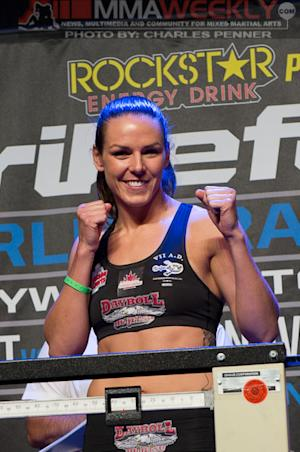 Alexis Davis Debuts in the Octagon at UFC 161 in Winnipeg, Where Her Career Began