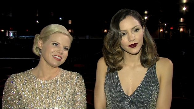 2013 Golden Globes: Katharine McPhee & Megan Hilty React To Smash Getting Nominated  -- Access Hollywood