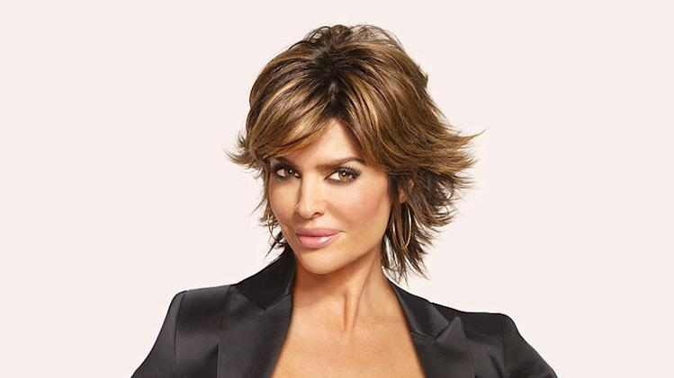 Lisa Rinna hosts Tease on Oxygen.