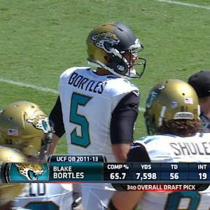 Week 3: Jacksonville Jaguars quarterback Blake Bortles highlights