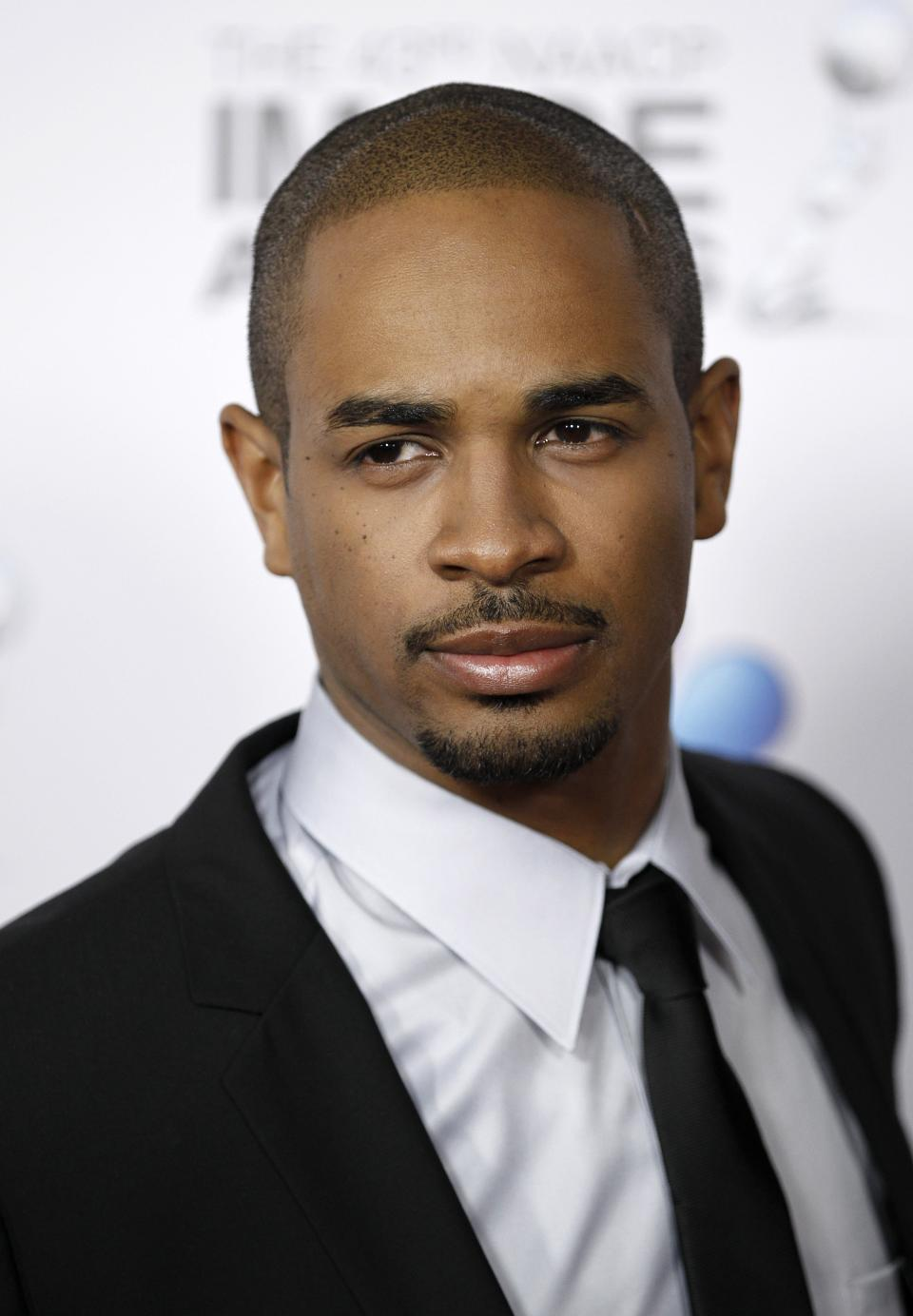 Damon Wayans Jr. arrives at the 43rd NAACP Image Awards on Friday, Feb. 17, 2012, in Los Angeles. (AP Photo/Matt Sayles)