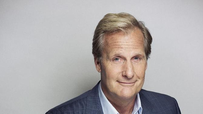"""Actor Jeff Daniels poses for a portrait, on Wednesday, June 19, 2013 in New York. Daniels says he will co-star with Jim Carrey in a sequel to the film """"Dumb and Dumber,"""" called """"Dumb and Dumber To."""" Daniels, who is known for critically acclaimed roles in """"The Squid and the Whale"""" and """"The Purple Rose of Cairo,"""" now stars in the HBO series """"The Newsroom,"""" which returns for a second season on Sunday, July 14. (Photo by Victoria Will/Invision/AP)"""
