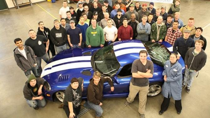 Chrysler Upsets School By Ordering Rare Dodge Viper Destroyed