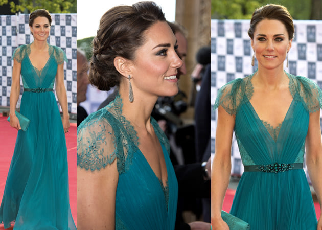 Kate Middleton stepped out last night in what we think is her best ...
