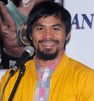 Filipino boxing icon and Congressman Manny Pacquiao (Getty)