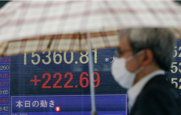 World stocks mixed ahead of Fed statements