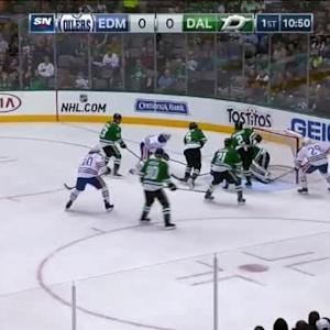 Kari Lehtonen Save on Nail Yakupov (09:10/1st)