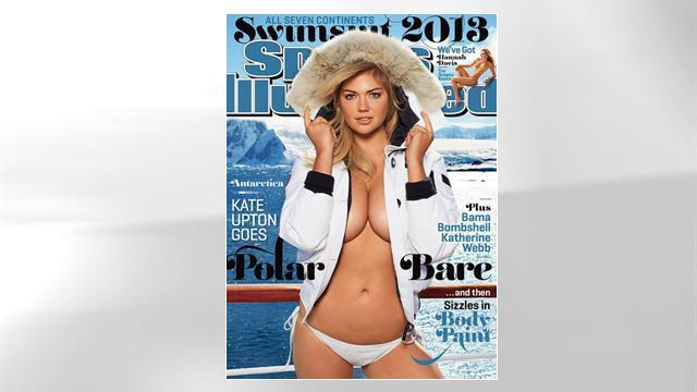 Kate Upton Graces Cover of Sports Illustrated's Swimsuit Edition