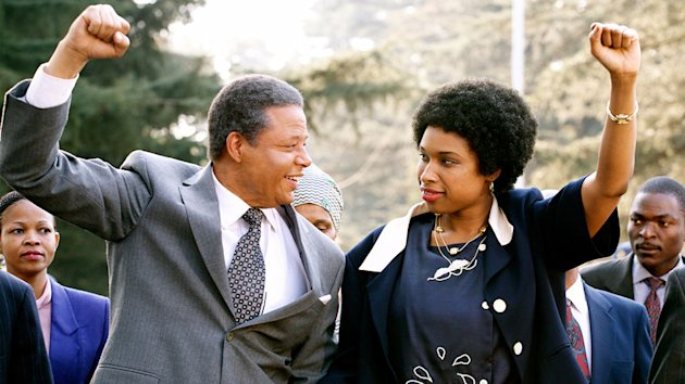 Terrence Howard and Jennifer Hudson in 'Winnie Mandela'