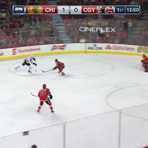 Chicago Blackhawks at Calgary Flames - 11/20/2014