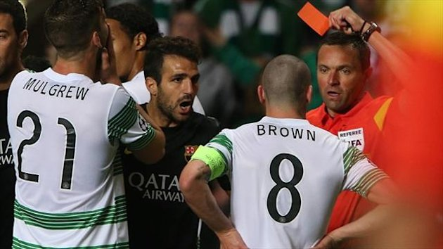 Scott Brown, right, is hoping to get his ban reduced