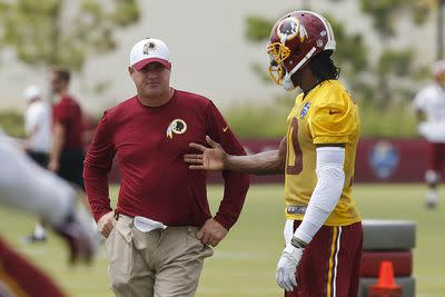 Washington front office, coaches reportedly ready to move on from RG3